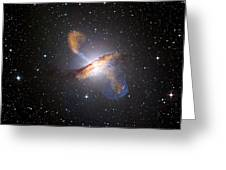 Centaurus A Black Hole Greeting Card