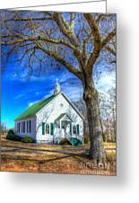 Centennial Christian Church Rural Greene County Georgia Greeting Card