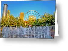 Centennial Fountains Greeting Card