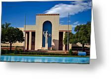Centennial Hall At Fair Park - Dallas Greeting Card