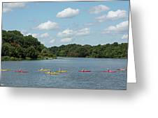 Centennial Lake Kayaks Greeting Card