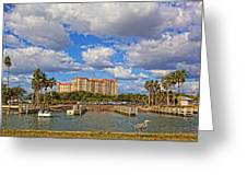 Centennial Park Boat Ramp Greeting Card