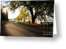 Centennial Trail Greeting Card