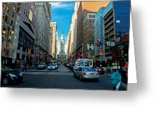 Center City Greeting Card