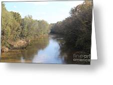 Center River Greeting Card