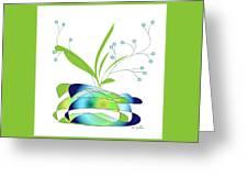 Centerpiece 3 Greeting Card
