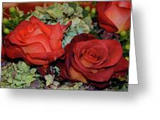 Centerpiece Roses Greeting Card