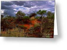Central Australia I Greeting Card