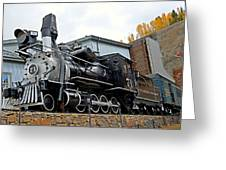 Central City Locomotive Greeting Card
