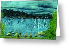 Central Highland's Lake. Greeting Card