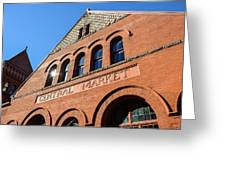 Central Market Lancaster Pennsylvania Greeting Card