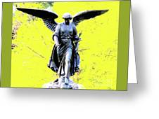 Central Park Bathesda Fountain 3b Detail Greeting Card