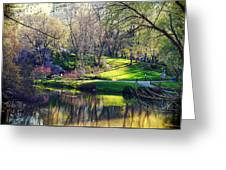 Central Park Colors Greeting Card