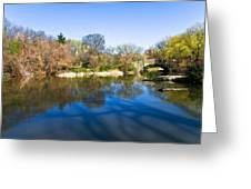 Central Park In New York City Greeting Card