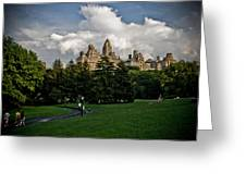 Central Park Skies Greeting Card