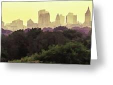 Central Park Skyline Greeting Card