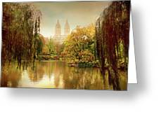 Central Park Splendor Greeting Card by Jessica Jenney