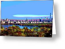 Central Park West Greeting Card