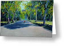 Central Park,nyc Greeting Card