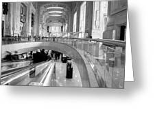 Central Station Milan 2 Greeting Card