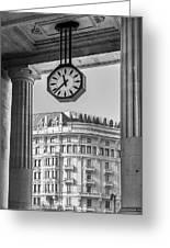 Central Station Milan 3 Greeting Card