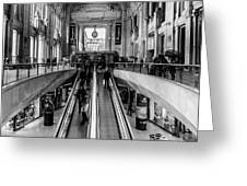 Central Station Milan Greeting Card