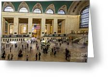 Central Station New York  Greeting Card