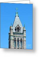 Central United Methodist Church Of Asheville Nc Greeting Card