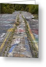 Centralia Graffiti Highway Greeting Card
