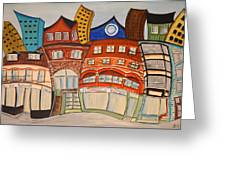 Centre Town Greeting Card