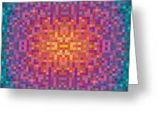 Centric Greeting Card
