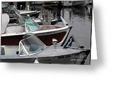 Century Boats Greeting Card