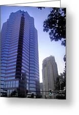 Century City. Galaxy Way Greeting Card