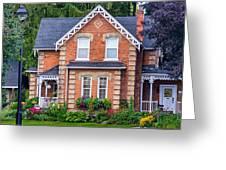 Century Home Greeting Card