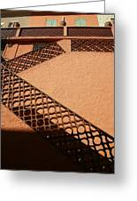 Cerbre France Stairs Greeting Card