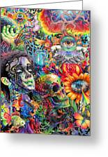 Cerebral Dysfunction Greeting Card by Callie Fink