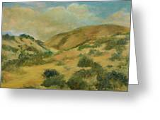 Cerillos Hills New Mexico Greeting Card