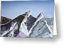Cerro De La Silla Of Monterrey Mexico Greeting Card