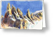 Cerro Torre, Patagonia Greeting Card