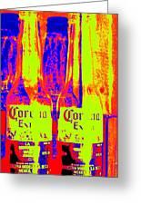 Cerveza Por Dos  Greeting Card