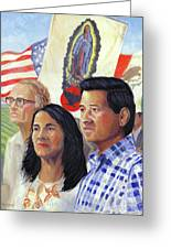 Cesar Chavez And La Causa Greeting Card