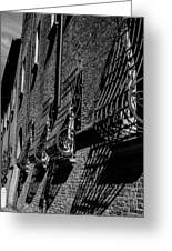 Cesena In Black And White Greeting Card