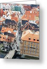 Ceske Krumlov 1 Greeting Card