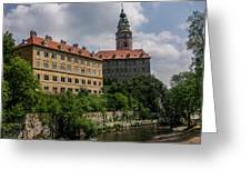 Cesky Krumlov Castle Greeting Card
