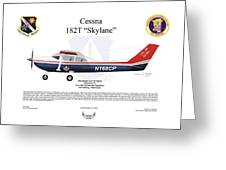 Cessna 182t Skylane Greeting Card