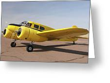 Cessna T-50 Bobcat N59188 Casa Grande Airport Arizona March 5 2011 Greeting Card