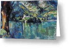 Cezanne: Annecy Lake, 1896 Greeting Card