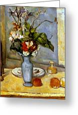 Cezanne: Blue Vase, 1885-87 Greeting Card