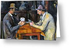 Cezanne: Card Player, C1892 Greeting Card