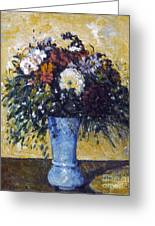 Cezanne: Flowers, 1873-75 Greeting Card